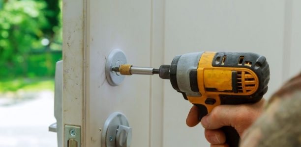 Installation of a new lock