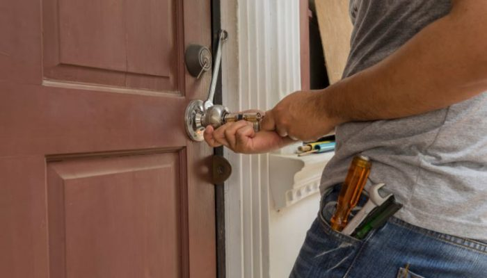 lock opening