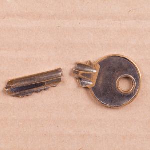 a key is broken