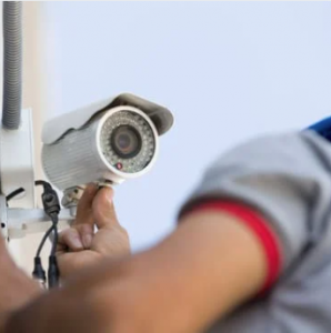 Set up your balcony with a security camera